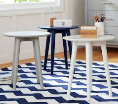 modern spindle side table pottery barn kids