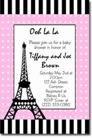 eiffel tower invitations eiffel tower baby shower by uprintinvitations on zibbet