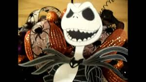 Halloween Jack Skeleton by Jack Skellington Nightmare Before Christmas Halloween Wreath