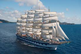 the royal clipper the largest 5 masted sailing ship in the world