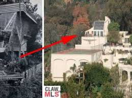 Where Is The Bachelor Mansion Bomb Shelter Bachelor Pad Turned Into Prince Purple Paint House
