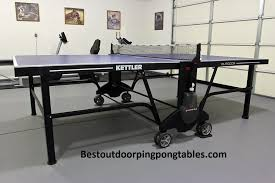 kettler heavy duty weatherproof indoor outdoor table tennis table cover kettler ch 5 0 outdoor ping pong table