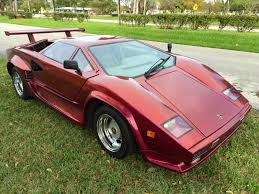 lamborghini replica 1985 lamborghini countach 5000 replica for sale in fort lauderdale