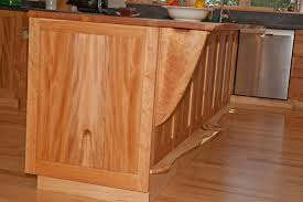 handmade cherry american lacewood and maple kitchen cabinets by