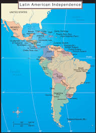 Map Of Latin America by Us History Maps