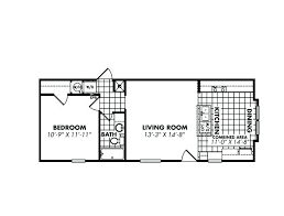 houses for sale with floor plans 1 bedroom mobile home mobile home floor plans 1 bedroom images