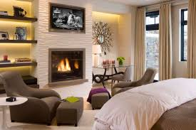decorations wall mounted indoor fireplaces your daily 50 bedroom fireplace ideas fill your nights with warmth and romance