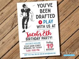 the 25 best football party invitations ideas on pinterest