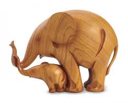 buy wooden sculptures elephant home decor 50 elephant figurines home accessories
