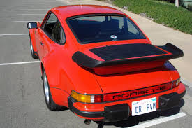 porsche 911 whale tail turbo foreign classics