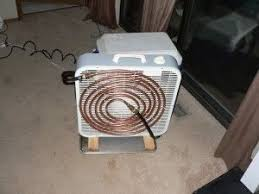 fan that uses ice to cool diy air conditioner box fan cooler pump copper tubing and ice