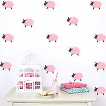 stickers mouton chambre bébé vente en gros sheep wall sticker galerie achetez à des lots à