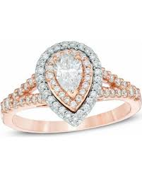gold pear shaped engagement ring savings are here 30 1 ct t w pear shaped