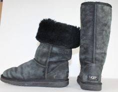 womens sheepskin boots size 11 womens ugg boots vintage ugg brown sheepskin boots