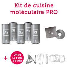 coffret cuisine mol馗ulaire kit cuisine mol馗ulaire 59 images agar agar cuisine mol馗