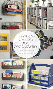 diy ideas for book organization jenna burger