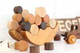 personalized natural wood toys from smiling tree toys