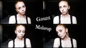 gaunt sunken face makeup tutorial youtube