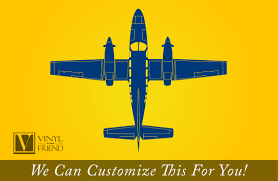 private propeller jet plane silhouette top view detailed aviation