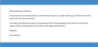 How To Send A Resume Via Email Exciting How To Send Resume Via Email 34 For How To Make A Resume
