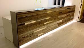 Narrow Reception Desk Living Room Nice Stimulating Custom Made Desks Impressive For