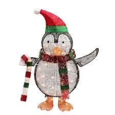 northlight seasonal lighted penguin with