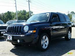 jeep dark blue 2016 true blue pearl jeep patriot latitude 4x4 107340341