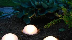 solar led landscape light with powered lighting ideas youtube and