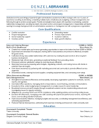 resume samples for office manager professional catering manager templates to showcase your talent resume templates catering manager