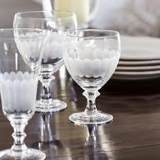 Wine Goblets Ranelagh Large Wine Goblet Set Of Four Oka