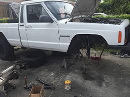jeep comanche spare tire carrier 88whitecomanche comanche build thread page 9 jeep cherokee forum
