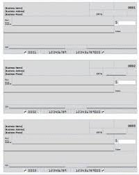 16 fake cheque template blank check with false numbers stock