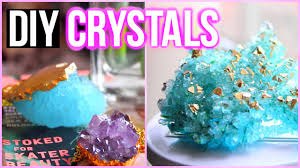 diy crystals at home inspired room decor youtube
