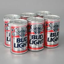 bud light for sale vintage budweiser 6 pack mini beer cans 12 golf balls sealed bud