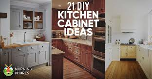 Kitchen Cabinet Ideas Diy Ideas For Kitchen Cabinets 13 Best Diy Budget Kitchen Projects