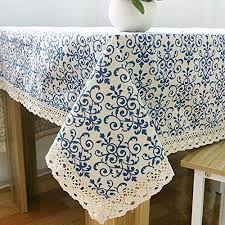 spandex table covers amazon colorbird vintage navy damask pattern decorative macrame https