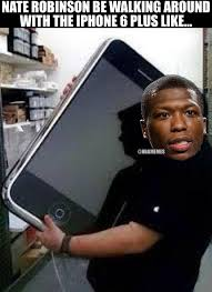 Iphone 10 Meme - nba memes on twitter nate robinson walking around with the apple