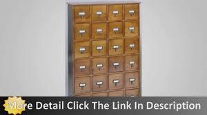 library file media cabinet leslie dame cd 456es solid oak library ard file media cabinet youtube
