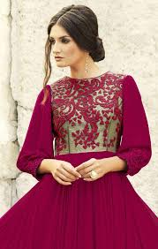 buy stylish royal designer evening gown for wedding reception