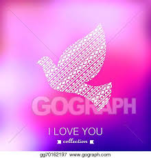 wedding backdrop template vector vector dove s day background pigeon