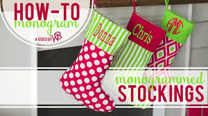 monogram christmas how to monogram christmas