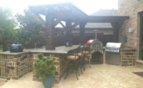 mckinney landscape design custom patio designer contractor in