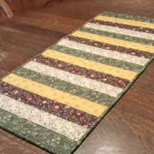 best quilted patchwork table runners products on wanelo