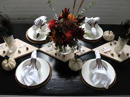 create a rustic modern thanksgiving table diy