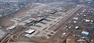 Phoenix Airport Terminal Map Phoenix Sky Harbor Airport