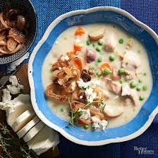 potato chicken soup