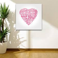 canvas wall art mosaic wall art for axiomatica org black white wall art hearts
