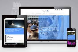 bureau plus montreal un nouveau site institutionnel pour l université de montréal