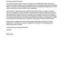 tremendous education cover letter 3 best teacher examples cv