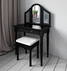 Dressing Table Shabby Chic by 3 Mirrored Black Dressing Table From Abreo Abreo Home Furniture